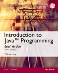 Intro to Java Programming, Brief Version, Global Edition (10th) edition 1292078564 9781292078564