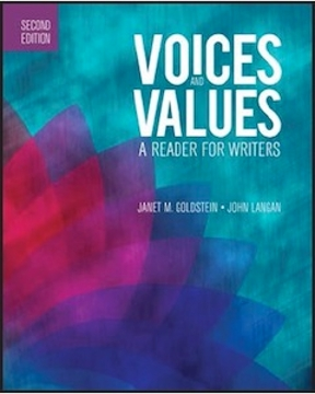 Voices and values book online