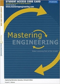 MasteringEngineering without Pearson eText -- Standalone Access Card -- for Engineering Mechanics (14th) edition 013397667X 9780133976670