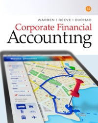Corporate Financial Accounting (14th) edition 130565353X 9781305653535