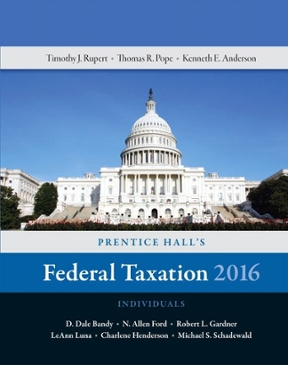 Prentice halls federal taxation 2016 individuals 29th edition prentice halls federal taxation 2016 individuals 29th edition 9780134105901 0134105907 view textbook solutions fandeluxe Gallery