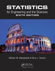Statistics for engineering and the sciences 6th edition rent statistics for engineering and t 6th fandeluxe Gallery