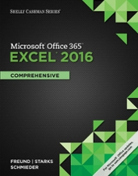 with Microsoft Excel 2016 Comprehensive GO