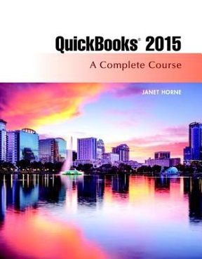 Quickbooks 2015 a complete course access card package 16th edition quickbooks 2015 16th edition 9780134325903 0134325907 fandeluxe Image collections
