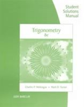 Textbook rental rent trigonometry textbooks from chegg student solutions manual for mckeagueturners trigonometry 8th 8th edition 9781305877863 1305877861 fandeluxe Choice Image