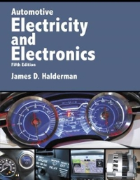 Automotive Electricity and Electronics (5th) edition 0134073649 9780134073644