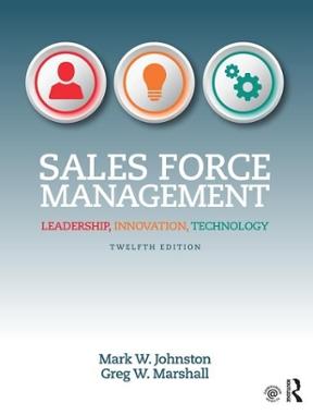 Sales force management leadership innovation technology 12th sales force management 12th edition 9781138951723 1138951722 fandeluxe Images