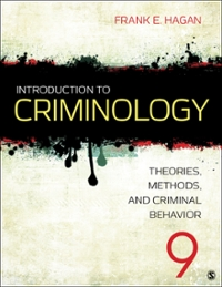 Introduction to criminology theories methods and criminal behavior introduction to criminology9th fandeluxe Choice Image