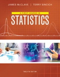 A First Course in Statistics (12th) edition 0134080629 9780134080628