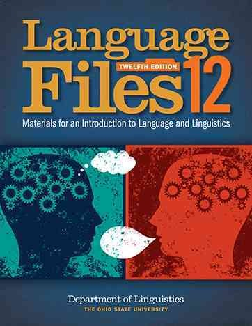 Textbook rental linguistics online textbooks from chegg language files 12th edition 9780814252703 0814252702 fandeluxe Images
