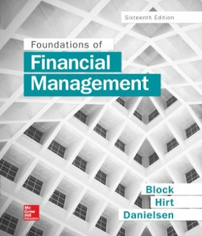 Foundations of financial management 16th edition rent foundations of financial management 16th edition 9781259277160 125927716x fandeluxe Choice Image