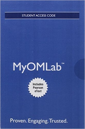 Myomlab with pearson etext access card for operations myomlab with pearson etext access card for operations management 12th edition 9780134165325 fandeluxe Image collections