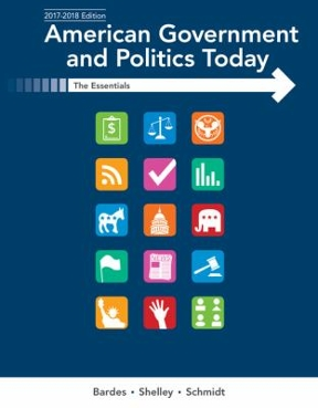 American government and politics today essentials 2017 2018 edition american government and politics today 19th edition 9781337091213 1337091219 fandeluxe Gallery