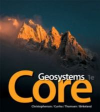 Textbook rental earth sciences online textbooks from chegg geosystems core 1st edition 9780134142869 0134142861 fandeluxe Images