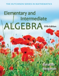 Loose Leaf Version for Elementary and Intermediate Algebra (5th) edition 0077574499 9780077574499