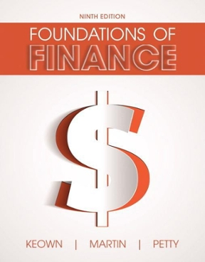 Foundations of finance 9th edition rent 9780134083285 chegg foundations of finance 9th edition 9780134083285 0134083288 view textbook solutions fandeluxe Images