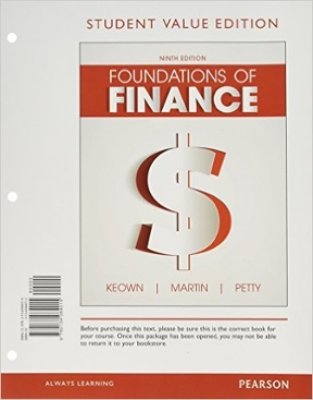 Foundations of finance student value edition plus myfinancelab with foundations of finance student value edition plus myfinancelab with pearson etext access card package view textbook solutions fandeluxe Images