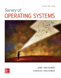 Survey of Operating Systems 4e (4th) edition 9781259175824 1259175820