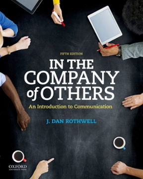 In the company of others an introduction to communication 5th in the company of others an introduction to communication 5th edition 9780190457440 0190457449 fandeluxe Image collections