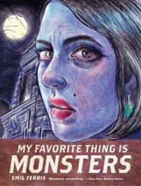 Textbook rental comics and graphic novels online textbooks from my favorite thing is monsters 1st edition 9781606999592 1606999591 fandeluxe Images