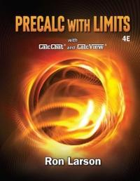 Precalculus with limits homework help