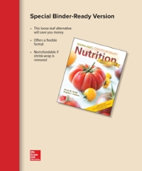 Loose Leaf for Wardlaw's Contemporary Nutrition Updated with 2015-2020 Dietary Guidelines for Americans 10th edition 9781259918209 1259918203