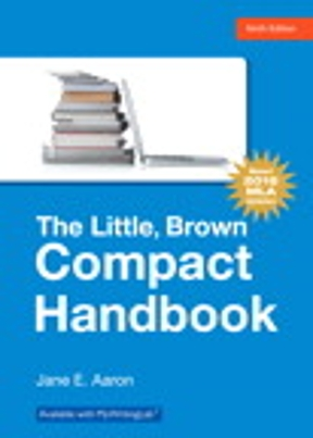 Little brown compact handbook the mla update edition 9th edition little brown compact handbook the mla update edition 9th edition 9780134586342 0134586344 fandeluxe Image collections