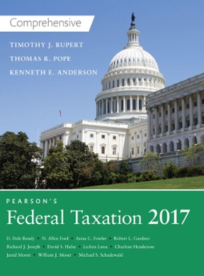 Pearsons federal taxation 2017 comprehensive 30th edition rent pearsons federal taxation 2017 comprehensive 30th edition fandeluxe Image collections