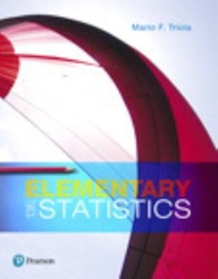Elementary Statistics 13th edition | Rent 9780134462455