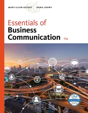 Essentials of Business Communication 11th edition 9781337386494 1337386499