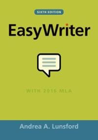 EasyWriter 7th edition | Rent 9781319152406 | Chegg com
