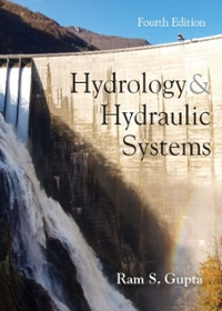 Hydrology and Hydraulic Systems 4th edition 9781478630913 1478630914