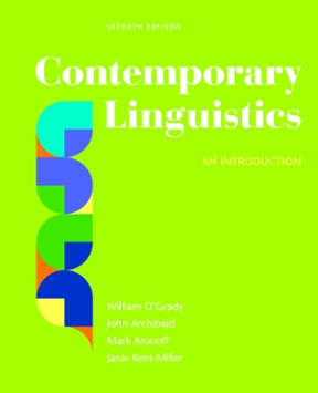 contemporary linguistics an introduction 7th edition rent rh chegg com Test Bank Solutions Manual Principles of Manufacturing Processes Metal Solutions Manual