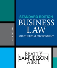 Textbook rental rent business law textbooks from chegg business law and the legal environment standard edition 8th edition 9781337404532 1337404535 fandeluxe Gallery