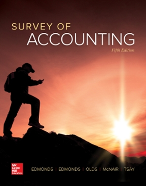 Survey of accounting 5th edition rent 9781259631122 chegg survey of accounting 5th edition 9781259631122 1259631125 fandeluxe Images