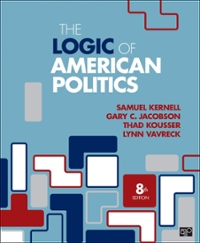 Textbook rental rent government textbooks from chegg the logic of american politics 8th edition 9781506358666 1506358667 fandeluxe Images