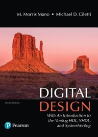 Digital Design 6th edition 9780134549897 0134549899