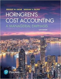 Horngrens cost accounting 16th edition textbook solutions chegg horngrens cost accounting 16th edition 9780134475585 0134475585 fandeluxe Image collections