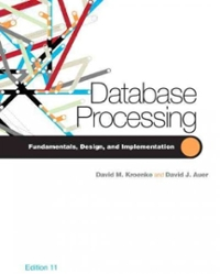 Database Processing (11th) edition 132302675 9780132302678