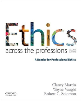 Ethics across the professions a reader for professional ethics 2nd ethics across the professions 2nd edition 9780190298708 0190298707 fandeluxe Images