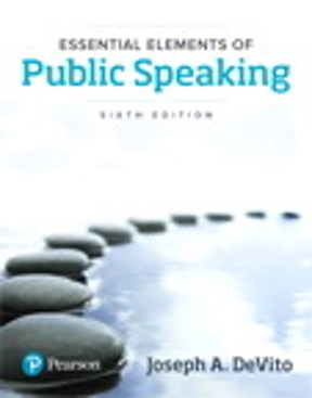 Essential Elements of Public Speaking 6th edition | Rent ...