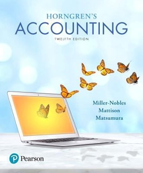 Horngrens accounting 12th edition rent 9780134486444 chegg horngrens accounting 12th edition fandeluxe Images