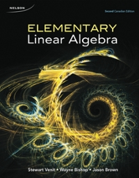 Elementary Linear Algebra 2nd Canadian Edition 2nd Edition Textbook Solutions Chegg Com