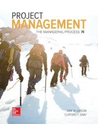 Loose Leaf for Project Management: The Managerial Process 7e (7th) edition 1260151905 9781260151909