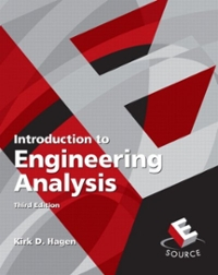 Introduction to Engineering Analysis (3rd) edition 013601772X 9780136017721