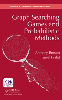 anthony bonato graph searching games and probabilistic methods pdf