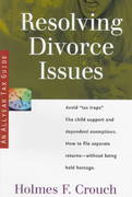 Resolving Divorce Issues: Tax Guide 104 (Series 100, Individuals and Families)