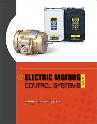 Electric Motors and Control Systems (1st) edition 0073521825 9780073521824