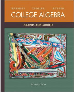 Introductory algebra through applications 3rd edition 8 array college algebra graphs and models 3rd edition rent 9780077221287 rh fandeluxe Choice Image