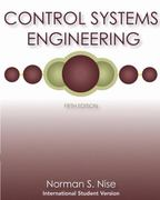 Control Systems Engineering, International Student Version 5th edition 9780470169971 0470169974